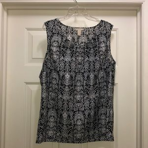EUC Banana Republic sleeveless shirt, size large